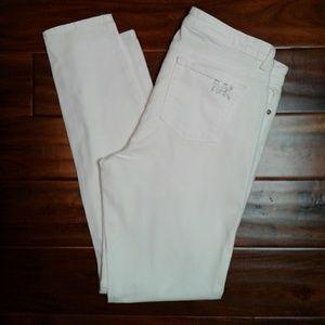 MK !!!!! White denim jeans